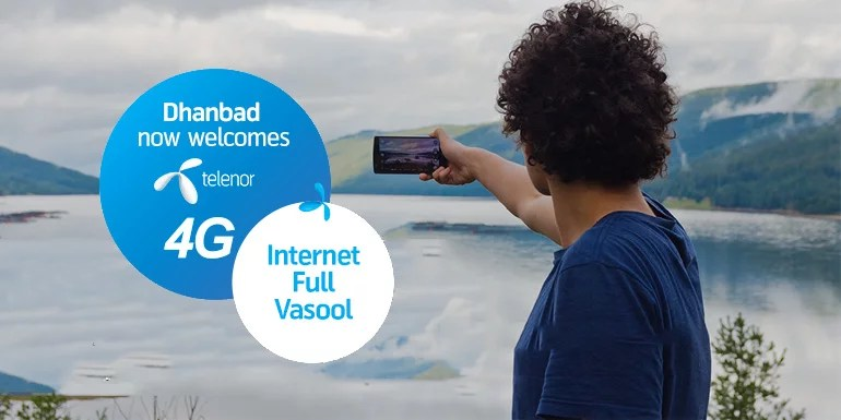 Telenor 4G now in Dhanbad (Bihar & Jharkhand) – 4G data pack starts at Rs 11