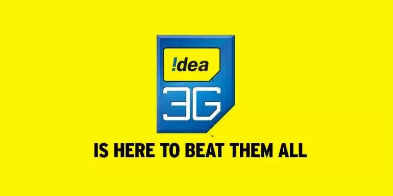 Idea Cellular now offers 3G Data Cutter packs, Get 1GB of 3G data benefits at Rs 57