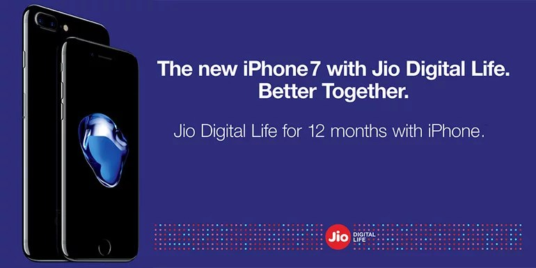 Apple iPhone users to get 12 months of Free Reliance Jio 4G Digital Service