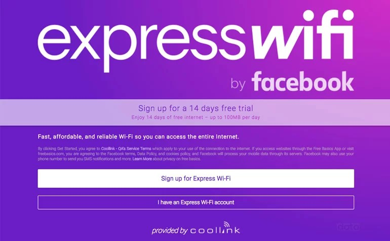 Facebook 'Express WiFi' service goes live in India