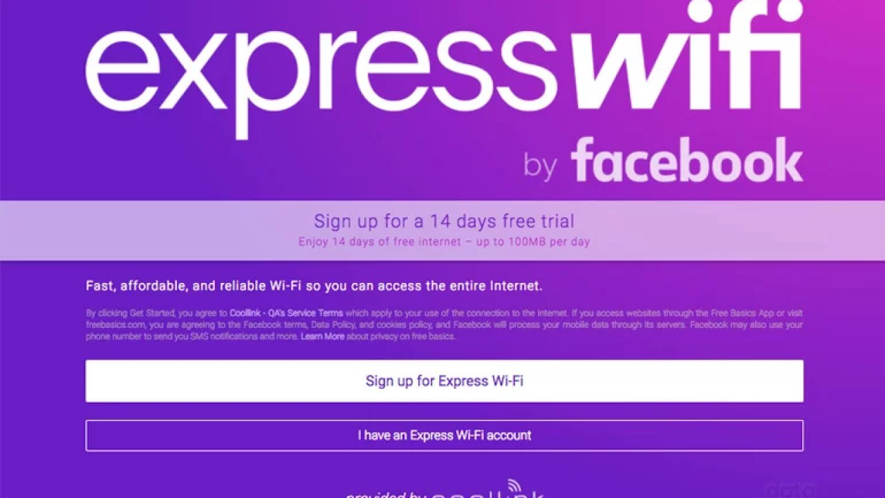 Facebook Express WiFi goes live in India - Features & Data Packs