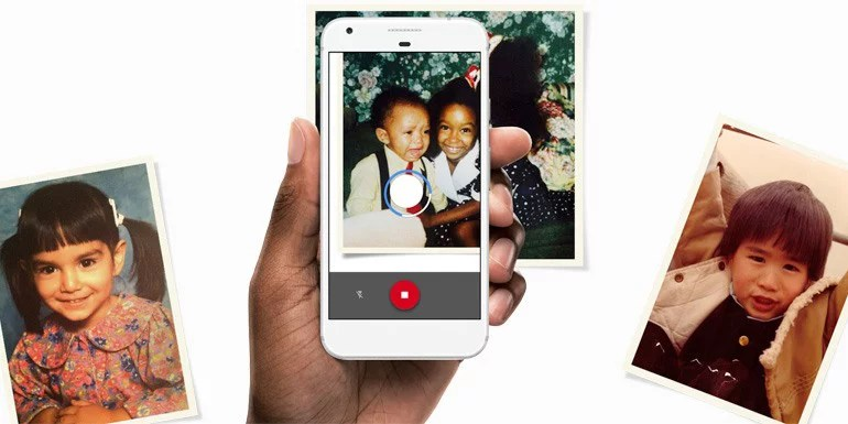 Google introduced PhotoScan app to digitize Old printed photos