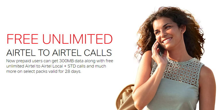 Airtel starts offering Unlimited Free Voice Calls with new Combo Packs