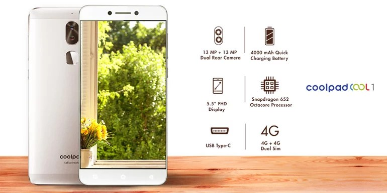 Coolpad Cool1 Dual ( C103 ) | 4GB 32Gb | Global Version