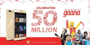 Gaana Indian music app crosses 50 million downloads