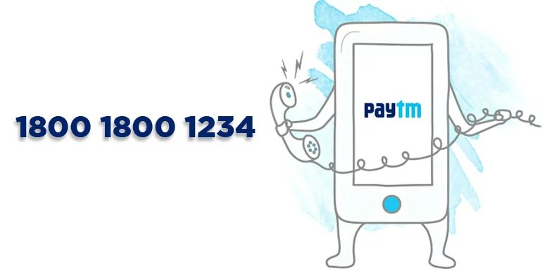Call Paytm toll-free number to transfer money without