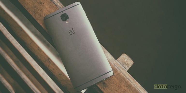 OnePlus 3T back Gunmetal color