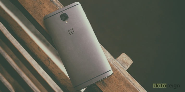 OnePlus 3T back Gunmetal color