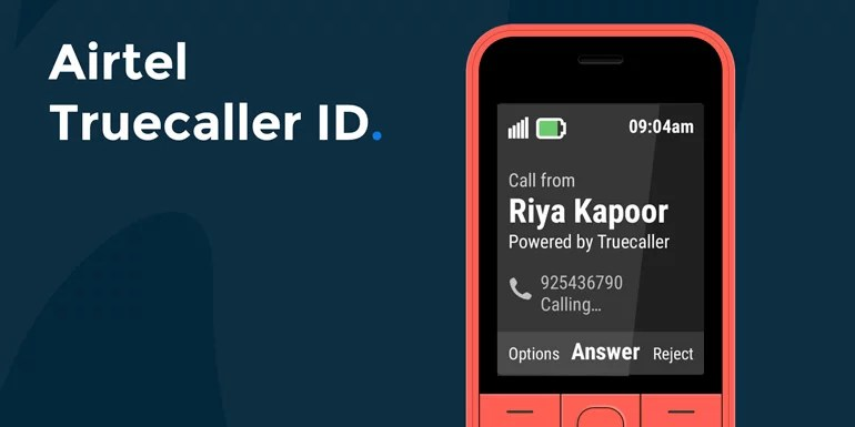Airtel Truecaller ID - get caller ID feature on your Feature phone