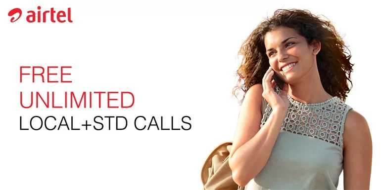 Airtel comes up with Rs 399 Plan Offering Unlimited Calls and data for 70 Days