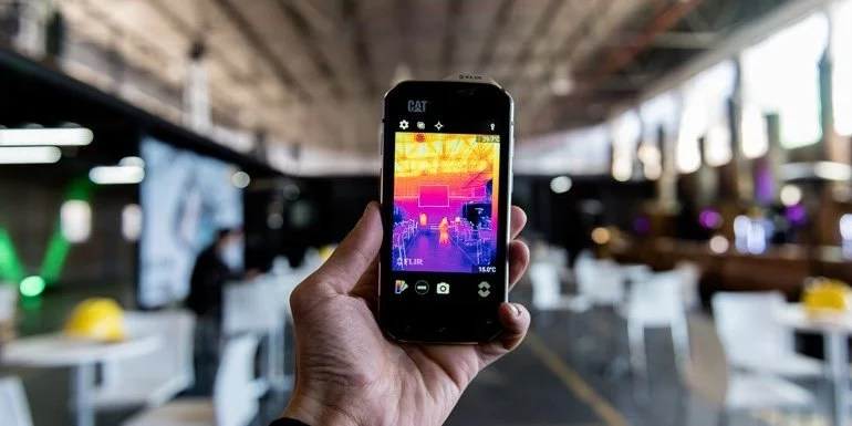 Cat S60 rugged smartphone launched in India with thermal camera