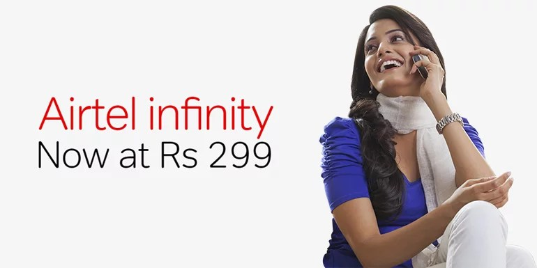 Airtel adds two new Limited benefits Postpaid Infinity Plans, starts at Rs 299
