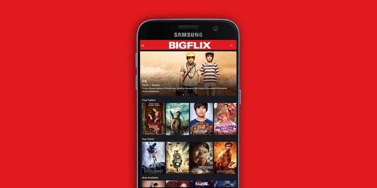 Reliance BigFlix relaunches in India, Premium Subscription starts at Rs 50 per Month