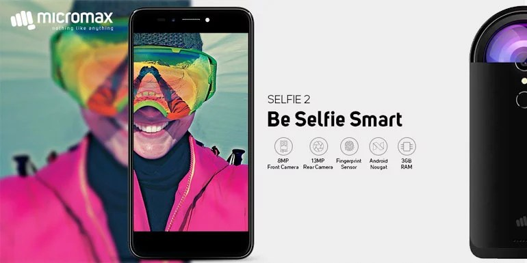 Micromax Selfie 2 unveiled with 8MP selfie camera and 4G VoLTE