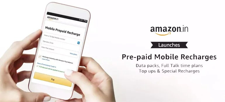 Amazon India To Launch Mobile Recharges With Instant Wallet Payment