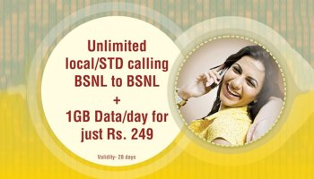 BSNL introduces Rs 187 STV with Unlimited Calls and 1GB data