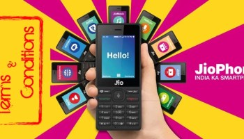JioPhone Rs 49 Plan May Violate The Effectively Zero Cost Terms