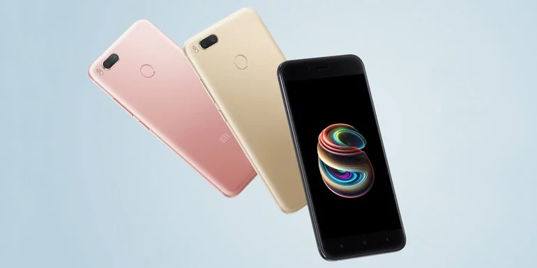 Xiaomi Mi A1 the Android One smartphone launched in India - Dual Camera, 4G VoLTE
