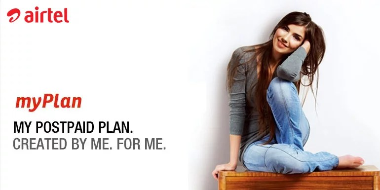 Airtel revamps Postpaid MyPlan Infinity Plans, Adds 10 time more 4G data