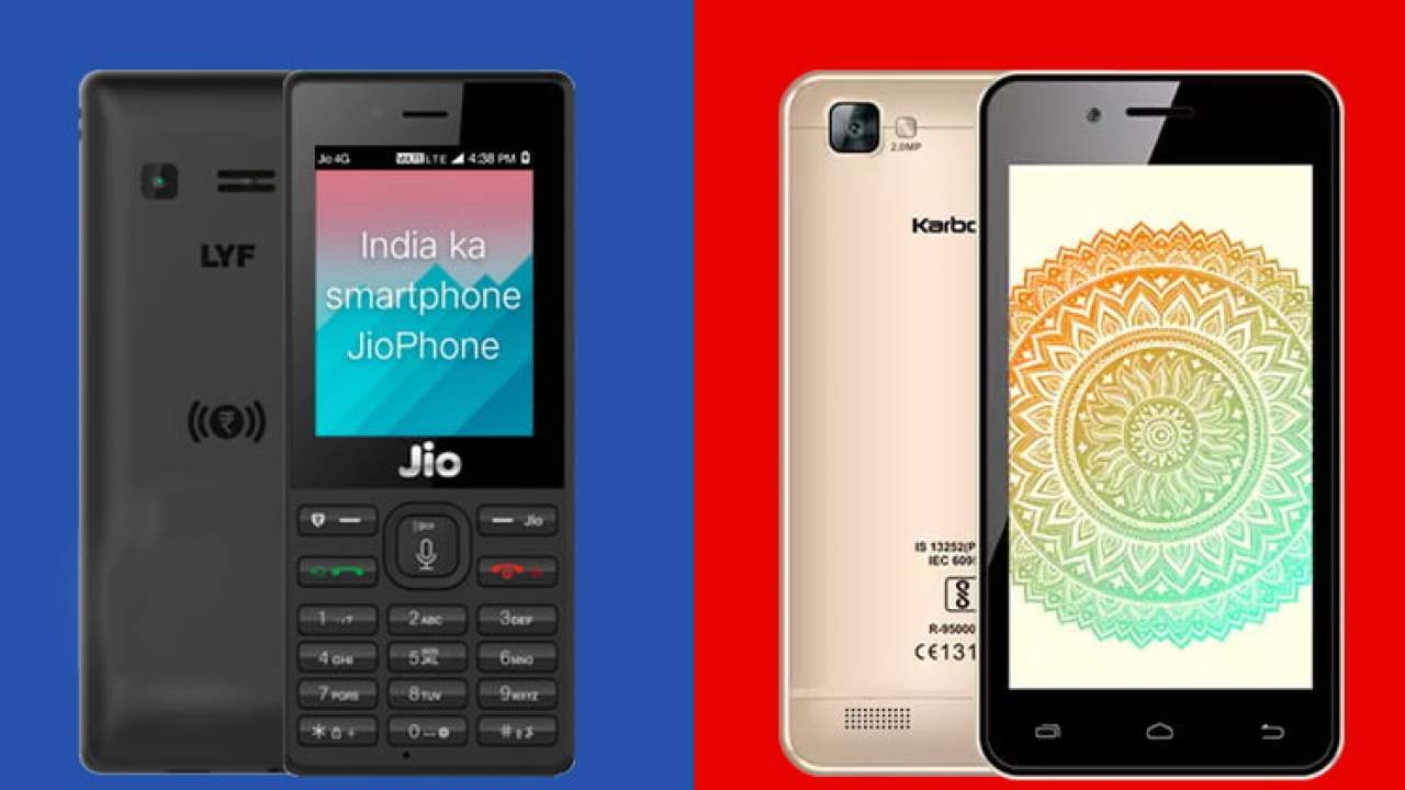 competitive price 31a3a acbeb Reliance JioPhone Vs Airtel Karbonn A40 Indian : Which Is Better?