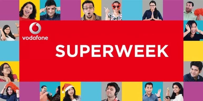 Vodafone India SuperWeek Pack now with Unlimited Calls to any Network