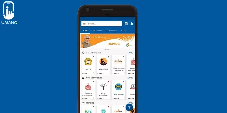 India Govt launches Unified Mobile Application for New-age Governance - UMANG