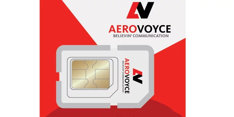 Aerovoyce starts Public MVNO Service with Free SIM, Unlimited Calls, SMS and Data