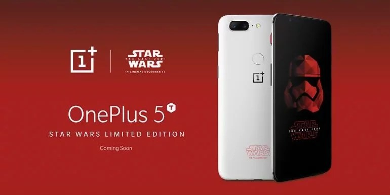 OnePlus 5T Star Wars Limited Edition teased at Comic Con, Bengaluru