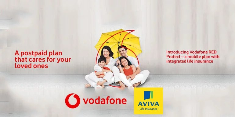 Vodafone India's RED Postpaid Plans now offer Red Protect Life Insurance