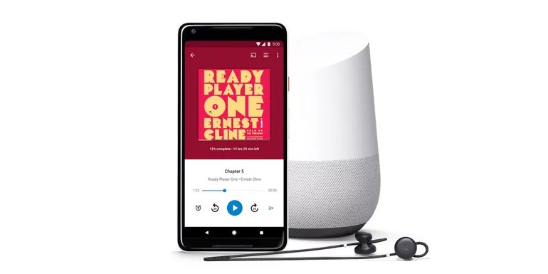 Audiobooks now available on Google Play, supports Google Assistant