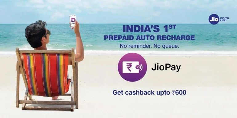 Jio Brings Auto Recharge Facility JioAutoPay For Prepaid And Postpaid