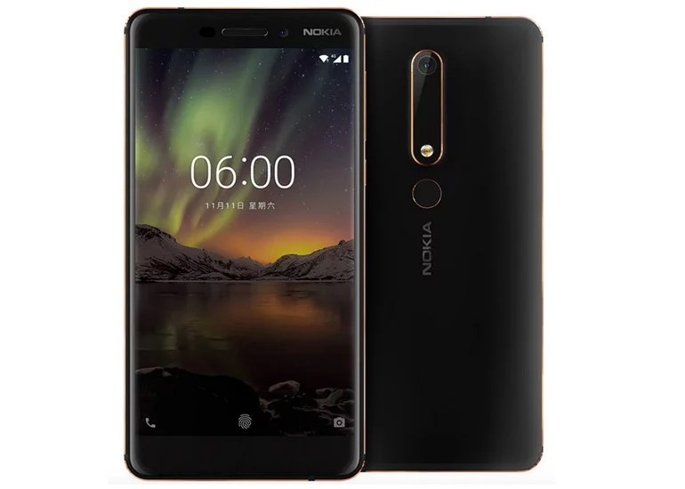 Nokia 6 second generation 2018 android smartphone