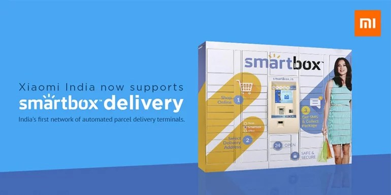Xiaomi India To Offer Smartbox Delivery Via Automated Parcel Terminals