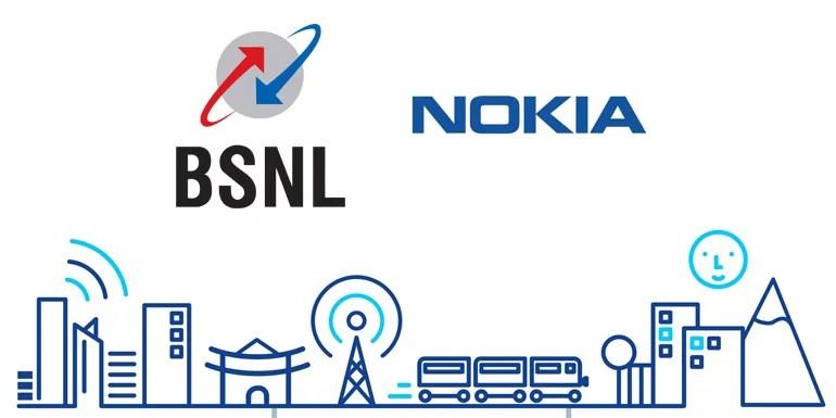BSNL inks 4G VoLTE deal with Nokia