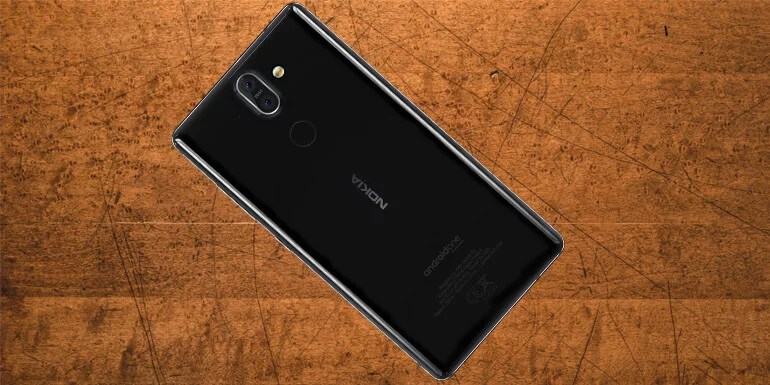 Nokia 8 Sirocco android one device with ZEISS optics