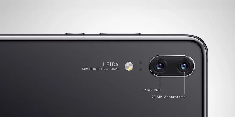 Huawei P20 with Dual Camera