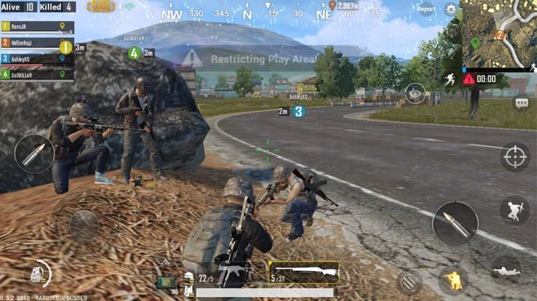 PlayerUnknown's Battlegrounds Mobile Gameplay