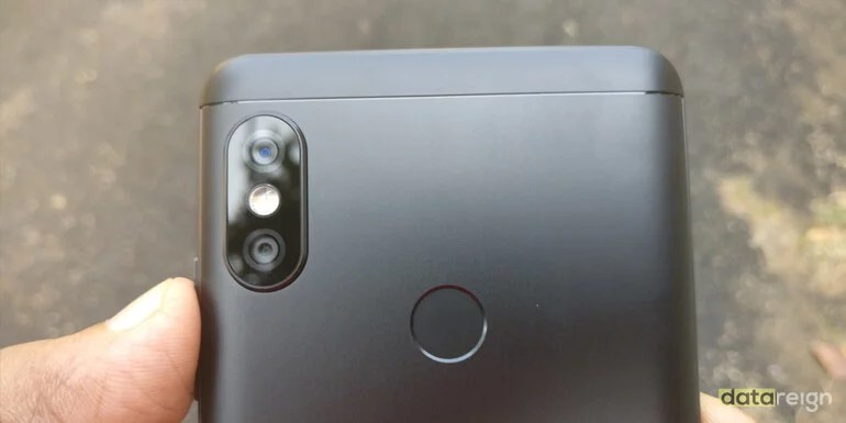 Xiaomi Redmi Note 5 Pro rear dual camera review