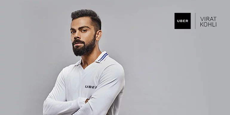 Virat Kohli becomes Uber brand ambassador in India