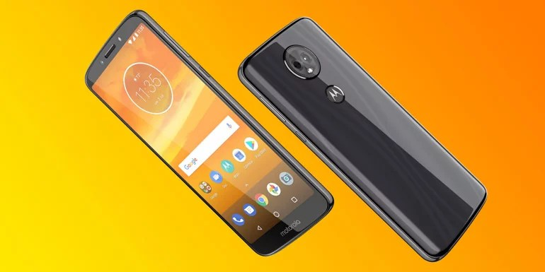 Moto E5 Plus android smartphone