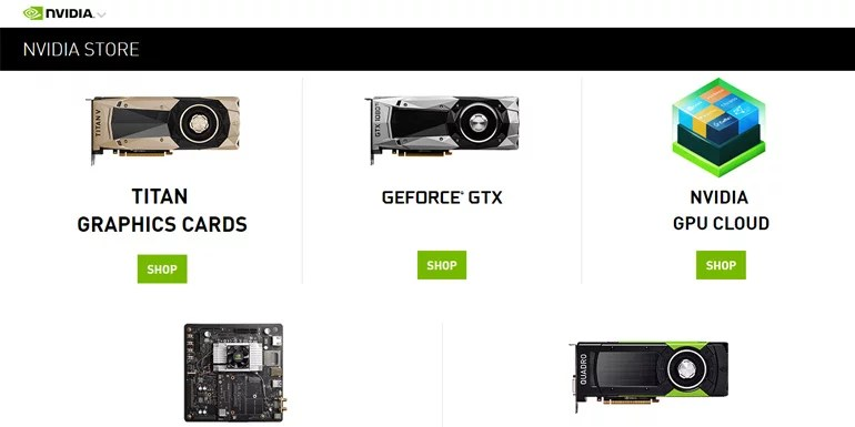 NVIDIA GeForce India Official Online Store Is Now Live