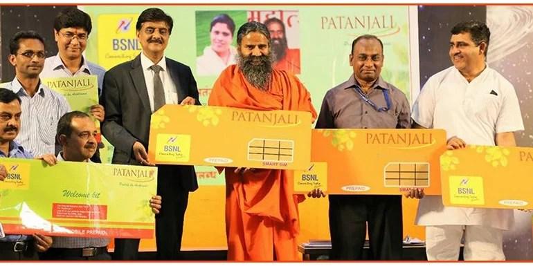 Patanjali, BSNL join hands for Swadeshi Samriddhi SIM card