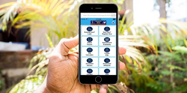 mPassport Seva App For Passport Services