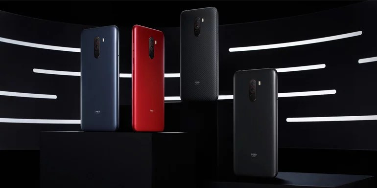 Xiaomi Poco F1 colour options, cases and skins