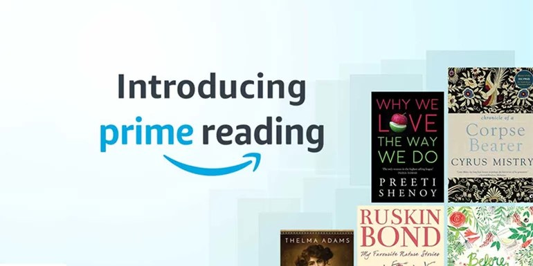 Amazon Prime Reading now in India - Free eBooks for Prime