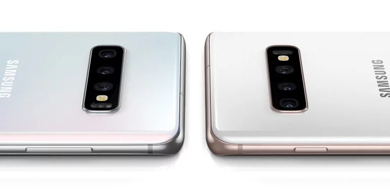 Samsung Galaxy S10 series smartphones Triple rear camera