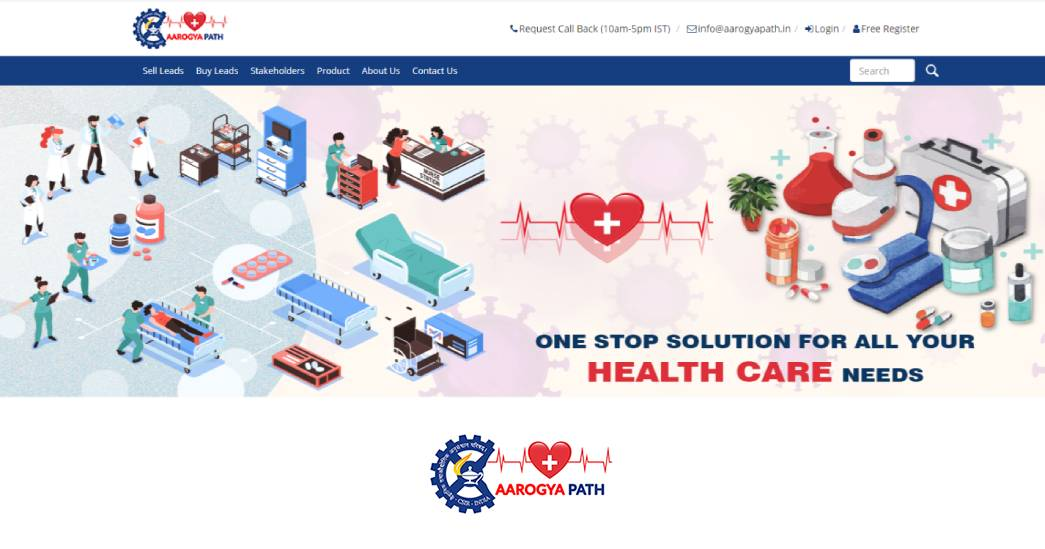 National Healthcare Supply Chain Portal - Aarogyapath