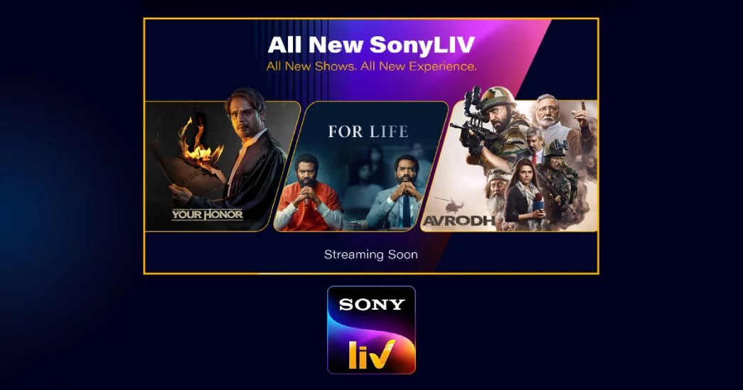 The all new SonyLIV with new exclusives, TV shows and movies