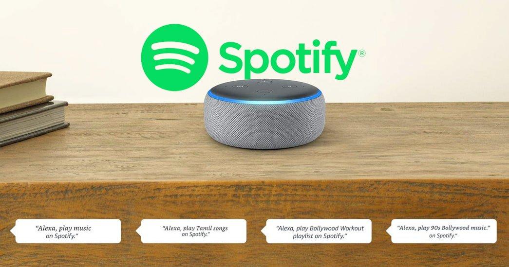 Spotify now works with Amazon Alexa on Amazon Echo devices in India