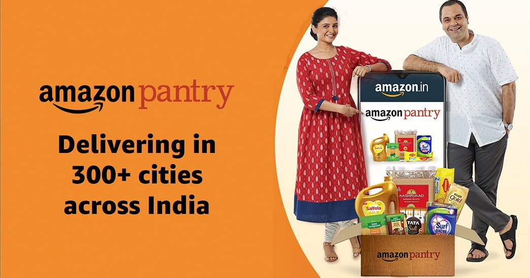 Amazon Pantry expanded to more Indian cities